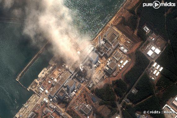 La centrale nucléaire de Fukushima.