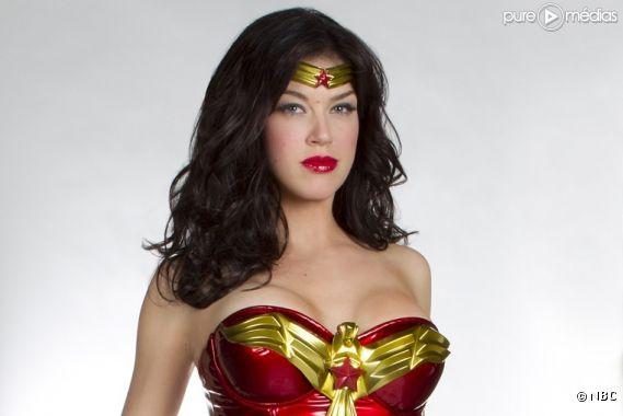 """Adrianne Palicki est """"Wonder Woman"""""""