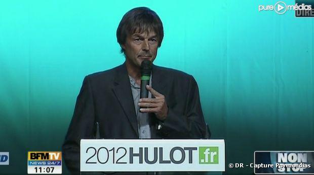 Nicolas Hulot, à Sevran, le 13 avrl 2011