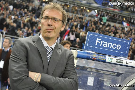 Laurent Blanc, sélectionneur de l'Equipe de France.