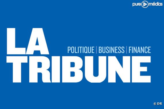 """Le logo de """"La Tribune"""""""