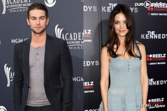 Chace Crawford et Katie Holmes