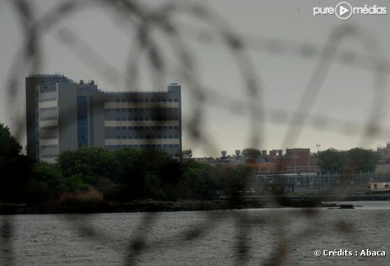 Une photo de la prison de Rikers Island où est détenu DSK