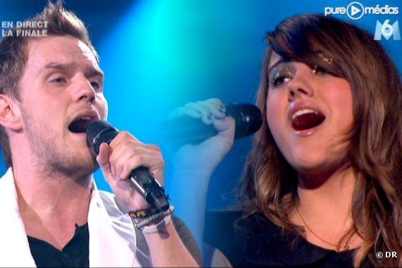 "Matthew et Marina, finalistes de ""X-Factor"""