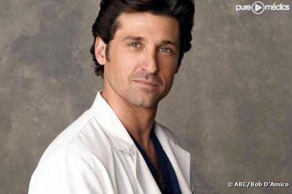 """Patrick Dempsey est Derek Shepherd dans """"Grey's Anatomy"""""""