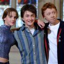 Emma Watson, Daniel Radcliffe et Rupert Grint assurent la promo de ''Harry Potter et la Chambre des Secrets'