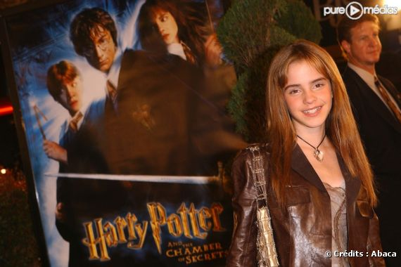 Emma watson assure la promo de 39 39 harry potter et la - Film harry potter et la chambre des secrets ...
