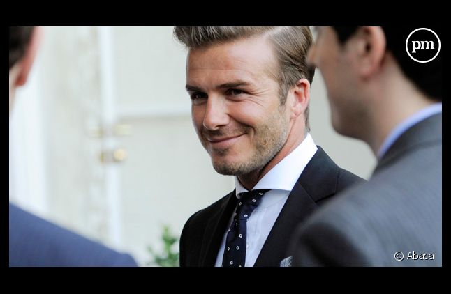 Le footballeur David Beckham.