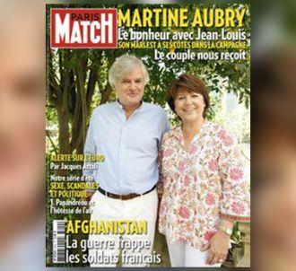 La Une de Paris Match (21 juillet 2011)