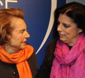 Liliane Bettencourt et sa fille