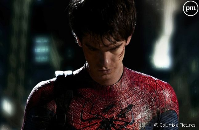 "Andrew Garfield est Peter Parker dans ""The Amazing Spider-Man"""