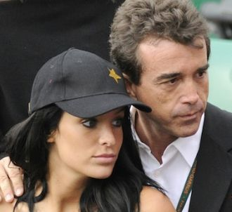 Arnaud Lagardère et Jade Foret