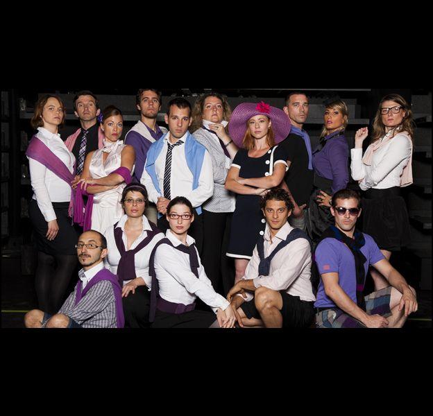"""""""BCBG"""", groupe participant à """"Sing-off : 100% Vocal"""" saison 1 sur France 2."""