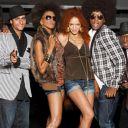 """""""Brown Sugar"""", groupe participant à """"Sing-off : 100% Vocal"""" saison 1 sur France 2."""