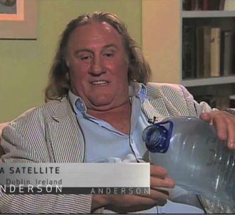 Gérard Depardieu dans l'émission 'Anderson'.