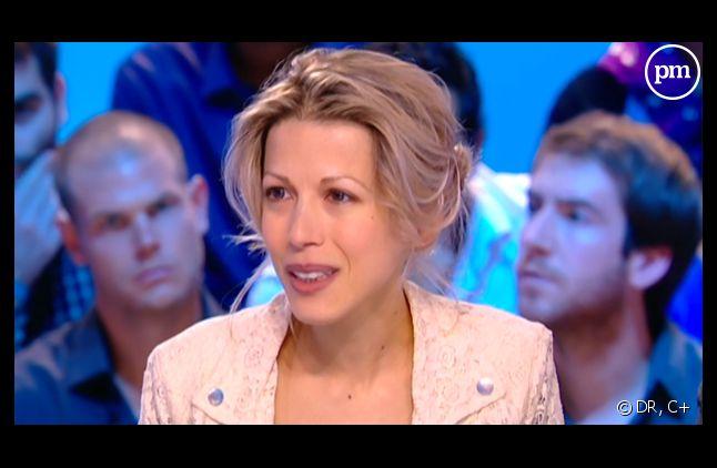 Tristane Banon, sur le plateau du Grand Journal de Canal + le 19 septembre 2011.