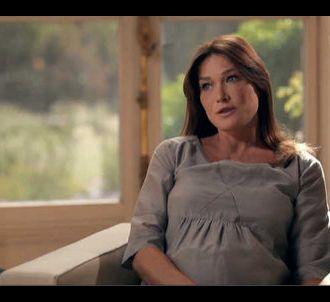 Carla Bruni, dans 'Sept à Huit' sur TF1
