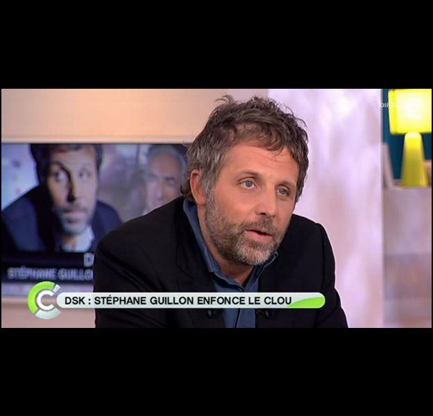 """Stéphane Guillon, invité de """"C a vous"""" le 20 septembre 2011."""