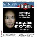 """Ségolène Royal à la Une de """"Libération"""" le samedi 24 septembre 2011"""