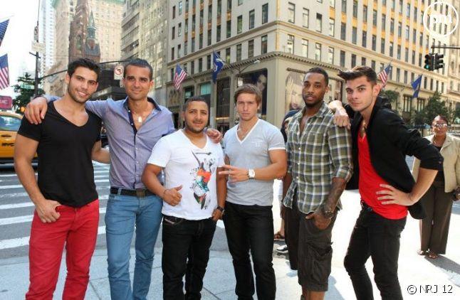 """Les garçons des """"Anges de la Télé-Réalité : I Love New York"""""""