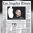 La Une de Los Angeles Times.