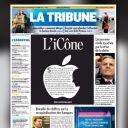 La Une de La Tribune.