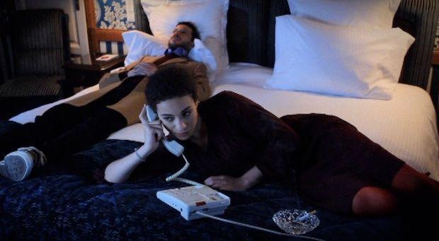 Camélia-Jordana et Alex Beaupain dans le clip