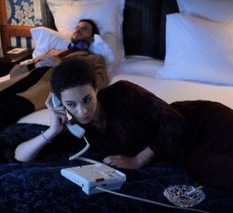 Camélia-Jordana et Alex Beaupain dans le clip 'Avant la...