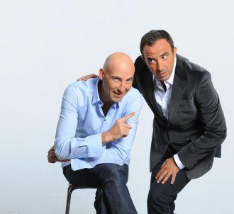 Nicolas Canteloup et Nikos Aliagas