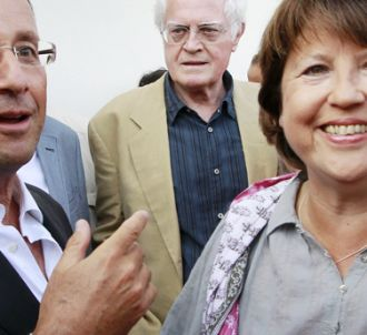 François Hollande et Martine Aubry.
