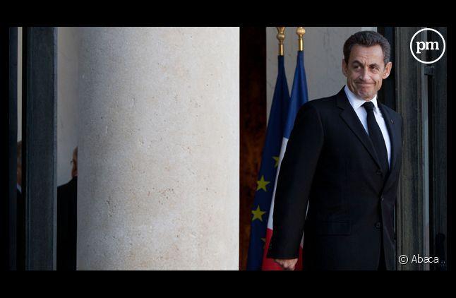 Nicolas Sarkozy, le 14 octobre à l'Elysée.