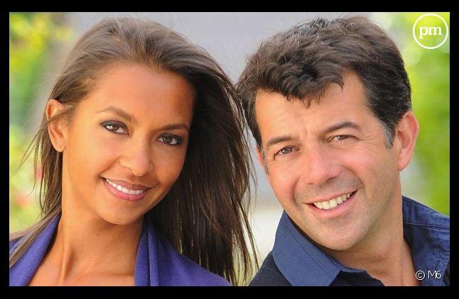 Karine Le Marchand et Stéphane Plaza