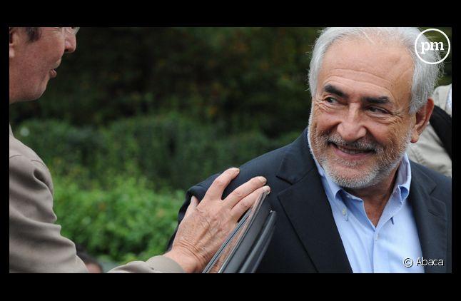 Dominique Strauss-Kahn, le 9 octobre 2011.