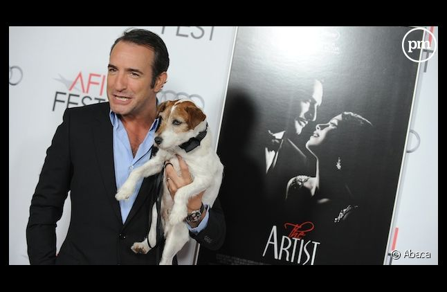 "Jean Dujardin à une projection de ""The Artist"" à Los Angeles"