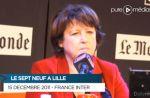 Incident avec une spectatrice et Martine Aubry dans la matinale de France Inter