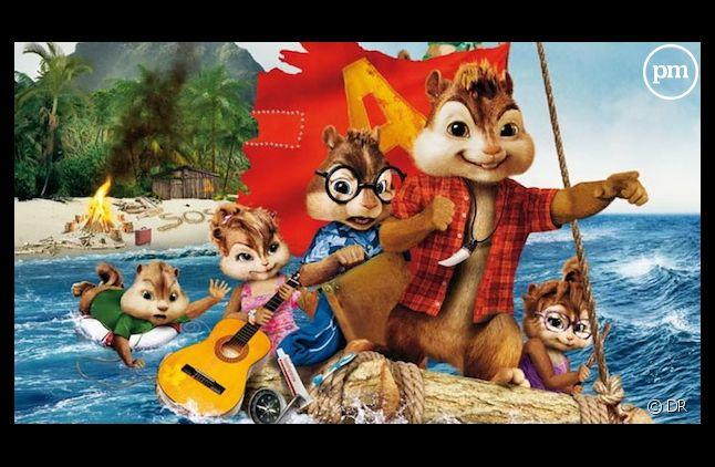 """L'affiche de """"Alvin et les Chipmunks 3"""""""