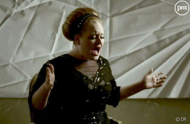 "Adele dans le clip de ""Rolling in the Deep"""