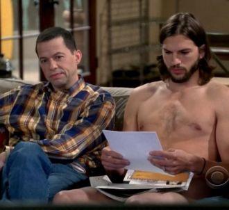 Jon Cryer et Ashton Kutcher dans 'Mon Oncle Charlie'...