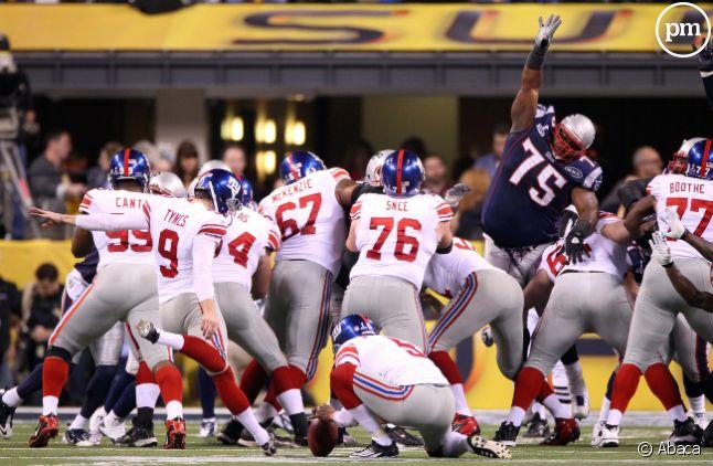 La finale du Super Bowl, le 6 février 2012.