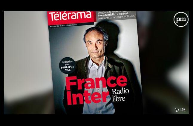La Une de Télérama datée du 8 février 2012.