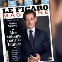 La photo de Nicolas Sarkozy en Une du Figaro Magazine, première affiche de campagne ?