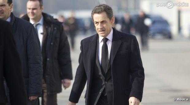 Nicolas Sarkozy, le 9 février 2012.