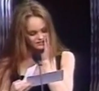 Vanessa Paradis se trompe de gagnante aux César 1991