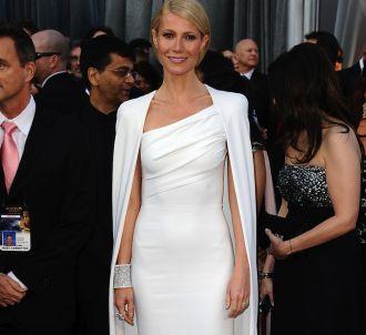 Gwyneth Paltrow sur le tapis rouge des Oscars 2012