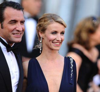 Jean Dujardin et Alexandra Lamy sur le tapis rouge des...