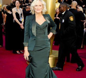 Glenn Close sur le tapis rouge des Oscars 2012
