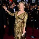 Meryl Streep sur le tapis rouge des Oscars 2012