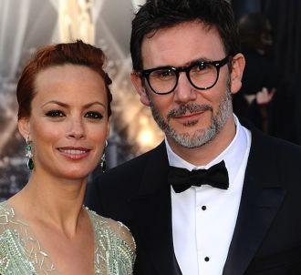 Bérénice Bejo et Michel Hazanavicius sur le tapis rouge...