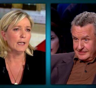 Marine Le Pen face à Michel Field sur TF1, le 5 mars 2012...