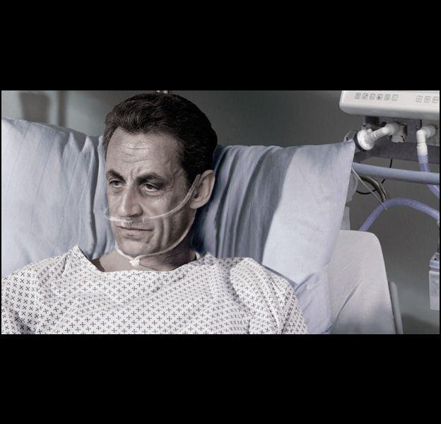 La campagne pour l'euthanasie de l'Association pour le Droit de Mourir dans la Dignité avec Nicolas Sarkozy.